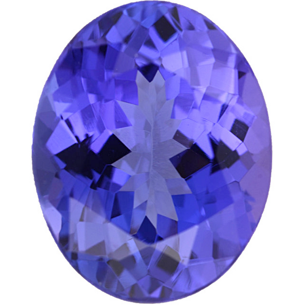 Natural Fine Rich Blue Violet Tanzanite - Oval - Tanzania - Top Grade - NW Gems & Diamonds