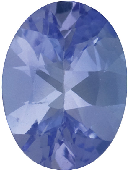 Natural Fine Violet Tanzanite - Oval - Tanzania - Select Grade - NW Gems & Diamonds