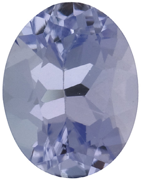 Natural Fine Lilac Violet Tanzanite - Oval - Tanzania - Select Grade - NW Gems & Diamonds