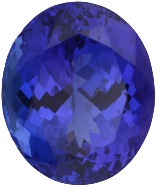 Natural Extra Fine Deep Blue Purple Tanzanite - Oval - Tanzania - Extra Fine Grade - NW Gems & Diamonds