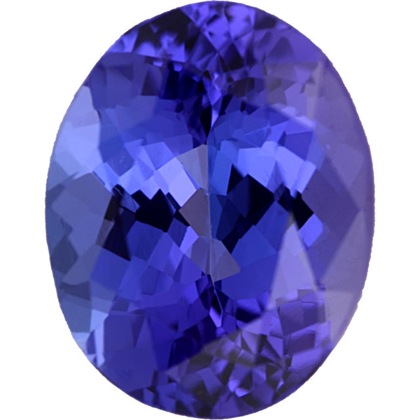 Natural Fine Rich Blue Purple Tanzanite - Oval - Tanzania - Top Grade - NW Gems & Diamonds