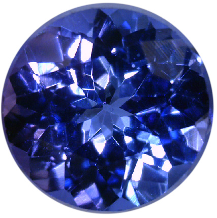 Natural Fine Blue Purple Tanzanite - Round - Tanzania - Top Grade - NW Gems & Diamonds