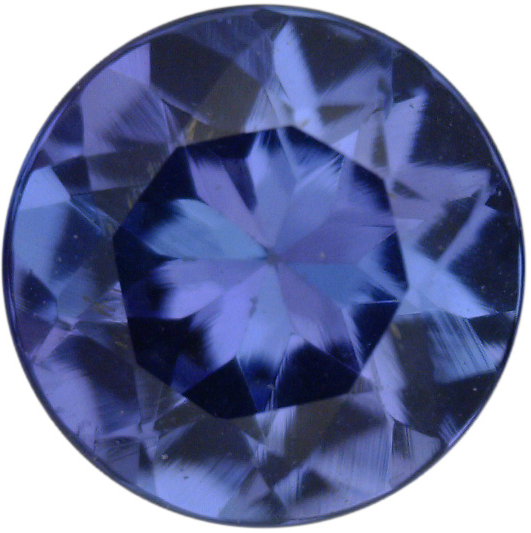 Natural Fine Deep Blue Violet  Tanzanite - Round - Tanzania - Top Grade - NW Gems & Diamonds