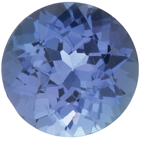 Natural Fine Blue Violet Tanzanite - Round - Tanzania - Select Grade - NW Gems & Diamonds