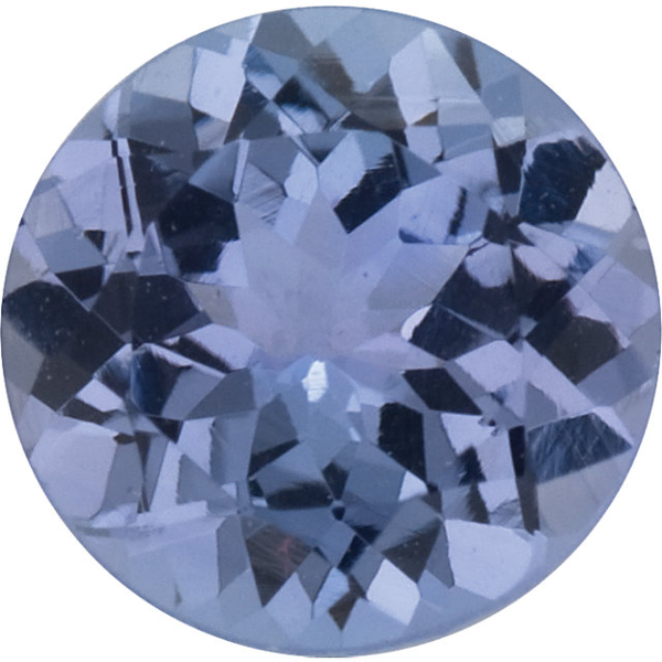 Natural Fine Violet Tanzanite - Round - Tanzania - Select Grade - NW Gems & Diamonds
