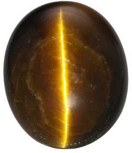 Natural Fine Deep Gold Bronze Tigereye - Oval Cabochon - South Africa - Top Grade - NW Gems & Diamonds