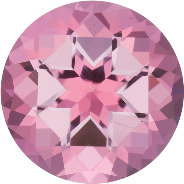 Natural Fine Baby Pink Topaz - Round - Brazil - Top Grade - NW Gems & Diamonds