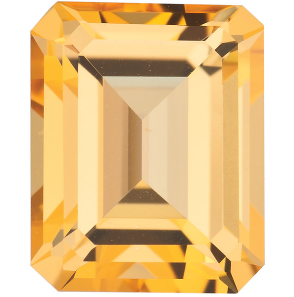 Natural Fine Honey Yellow Topaz - Emerald Cut - Brazil - Top Grade - NW Gems & Diamonds