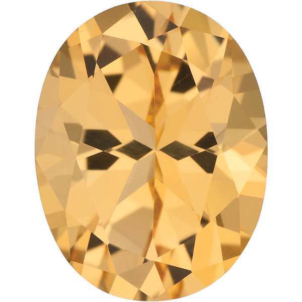 Natural Fine Honey Yellow Topaz - Oval - Brazil - Top Grade - NW Gems & Diamonds