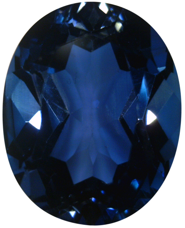 Natural Fine Deep London Blue Topaz - Oval - Sri Lanka - Top Grade - NW Gems & Diamonds