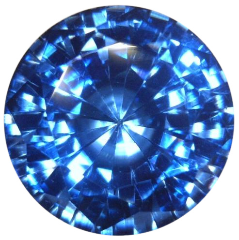 Natural Fine Intense London Blue Topaz - Round - Sri Lanka - Top Grade - NW Gems & Diamonds