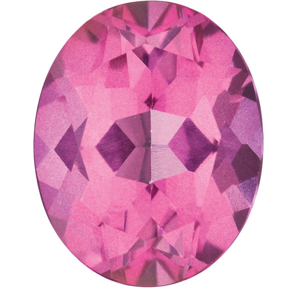 Natural Fine Mystic Pink Topaz - Oval - Brazil - Top Grade - NW Gems & Diamonds