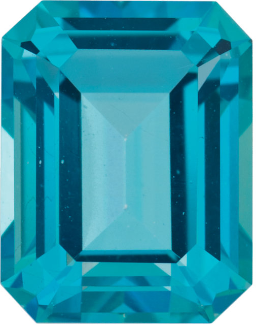Natural Fine Paraiba Blue Topaz - Emerald Cut - Brazil - Top Grade - NW Gems & Diamonds