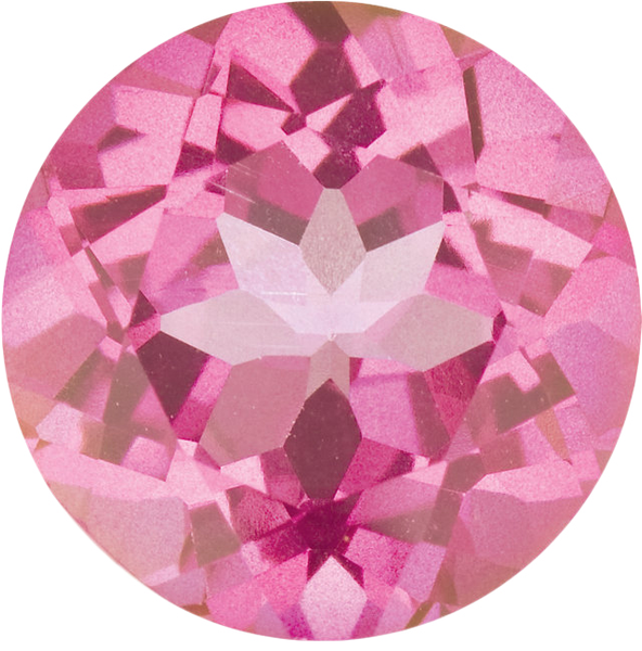 Natural Fine Mystic Pink Topaz - Round - Brazil - Top Grade - NW Gems & Diamonds