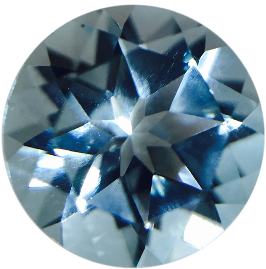 Natural Fine Sky Blue Topaz - Round - Sri Lanka - Top Grade - NW Gems & Diamonds