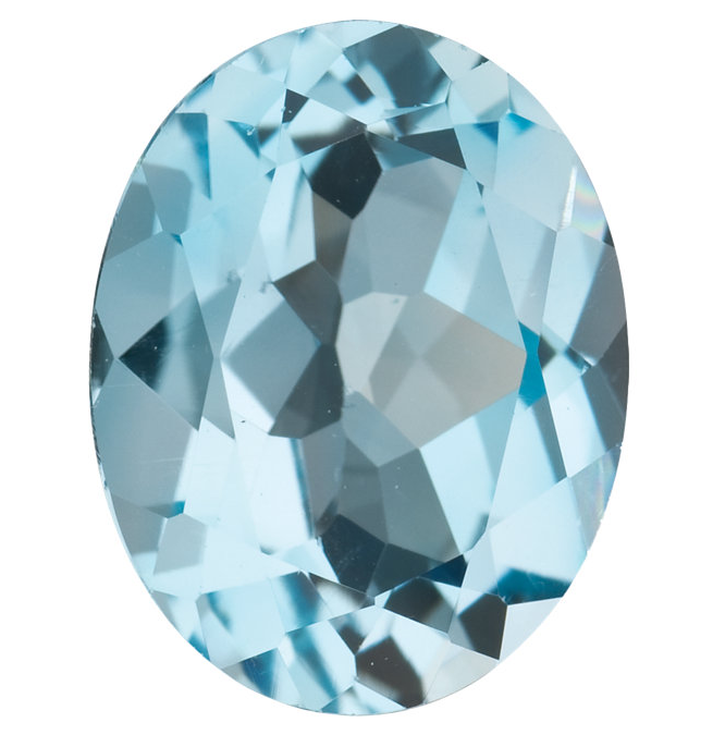 Natural Fine Sky Blue Topaz - Oval - Brazil - Top Grade - NW Gems & Diamonds