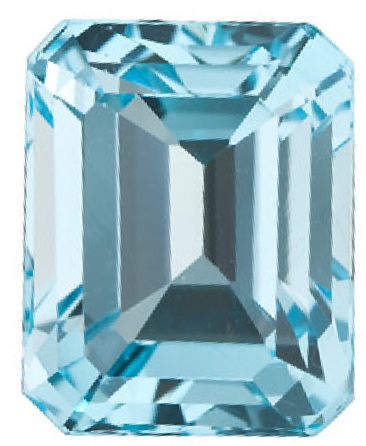 Natural Fine Sky Blue Topaz - Emerald Cut - Brazil - Top Grade - NW Gems & Diamonds