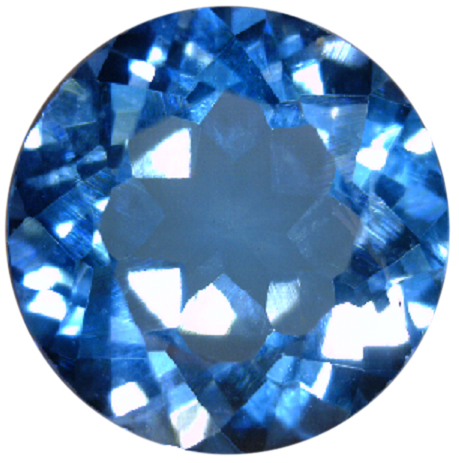 Natural Fine Swiss Blue Topaz - Round - Sri Lanka - Top Grade - NW Gems & Diamonds