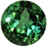 Natural Fine Blue Green Tourmaline - Round - Sri Lanka - Top Grade - NW Gems & Diamonds