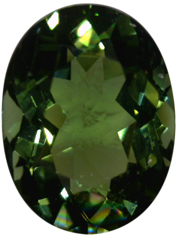 Natural Fine Deep Forest Green Tourmaline - Oval - Sri Lanka - Top Grade - NW Gems & Diamonds