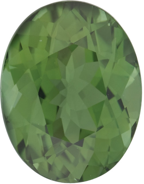 Natural Fine Forest Green Tourmaline - Oval - East Africa - Top Grade - NW Gems & Diamonds