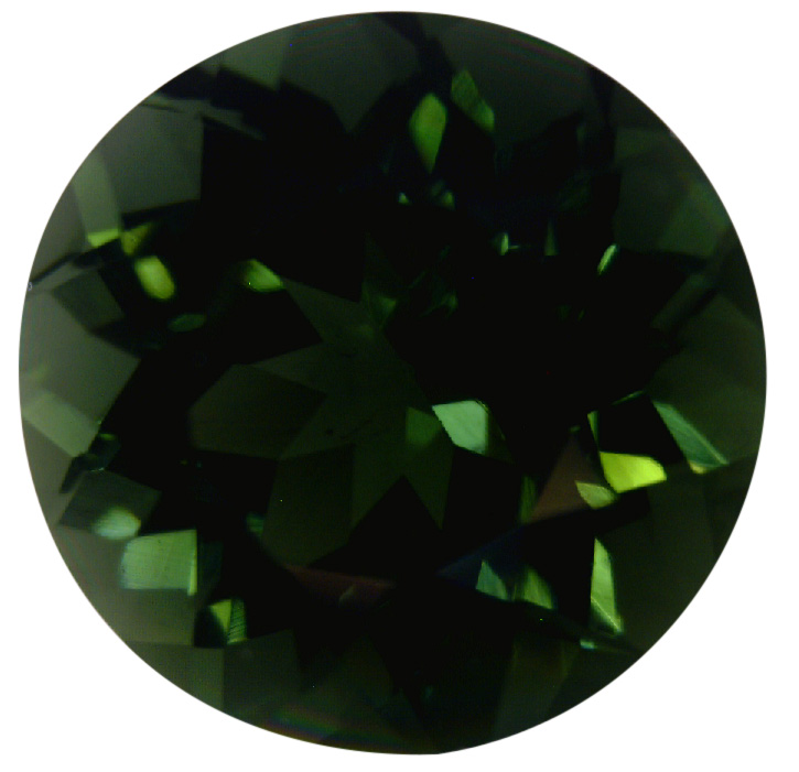 Natural Fine Deep Forest Green Tourmaline - Round - Sri Lanka - Top Grade - NW Gems & Diamonds