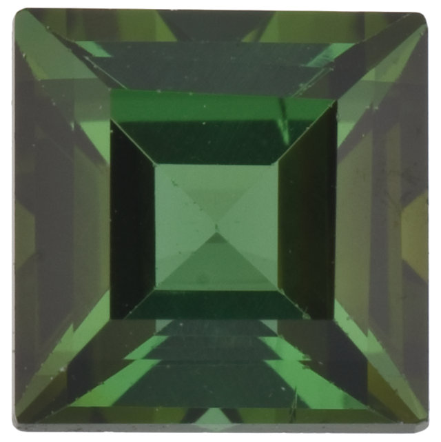 Natural Fine Forest Green Tourmaline - Square Step - East Africa - Top Grade - NW Gems & Diamonds