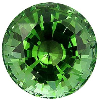 Natural Fine Green Tourmaline - Round - East Africa - Top Grade - NW Gems & Diamonds