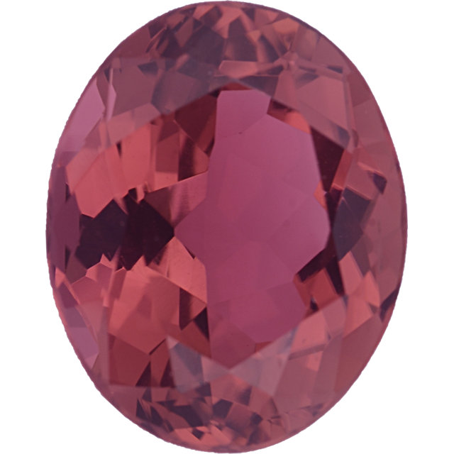Natural Fine Deeper Pink Tourmaline - Oval - Mozambique - Top Grade - NW Gems & Diamonds