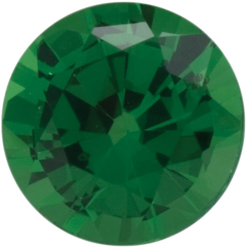 Natural Fine Green Tsavorite - Round - East Africa - Top Grade - NW Gems & Diamonds