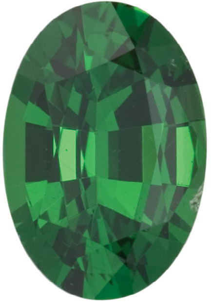 Natural Fine Green Tsavorite - Oval - East Africa - Top Grade - NW Gems & Diamonds