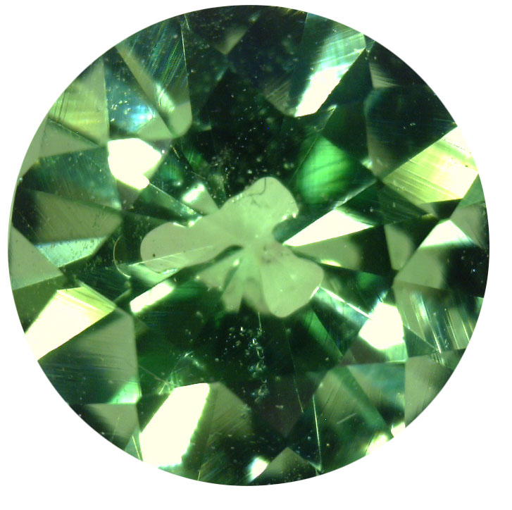 Natural Fine Mint Green Tsavorite - Round - Kenya - Top Grade - NW Gems & Diamonds