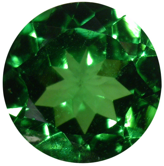 Natural Fine Rich Green Tsavorite - Round - Tanzania - Top Grade - NW Gems & Diamonds