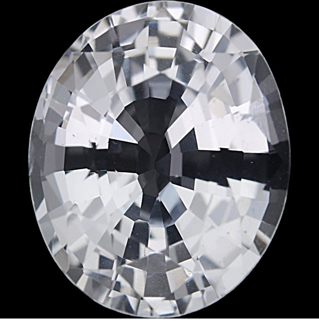 Natural Extra Fine White Sapphire - Oval - Sri Lanka - Extra Fine Grade - NW Gems & Diamonds