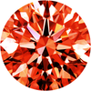 Parcel Natural Super Fine Carrot Orange Sapphire Melee - Round - AAAA Grade
