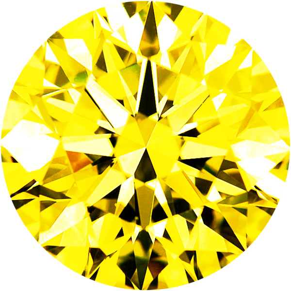 Parcel Natural Super Fine Canary Yellow Sapphire Melee - Round - AAAA Grade