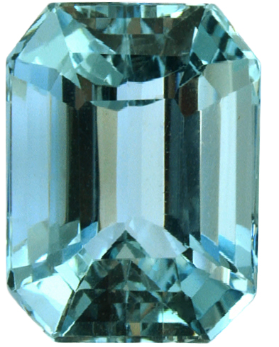 Natural Fine Sea Blue Zircon - Emerald Cut - Cambodia - Top Grade - NW Gems & Diamonds