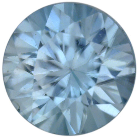Natural Fine Sky Blue Zircon - Round - Cambodia - Top Grade - NW Gems & Diamonds