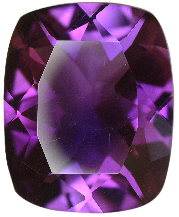 Natural Extra Fine Rich Royal Purple Amethyst Antique Cushion AAA+ 5x3mm-14x10mm