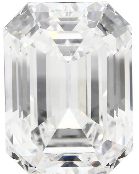 Natural Fine Diamond Melee - Emerald Cut - VVS2-VS1 - G-H - Precision Cut - Africa