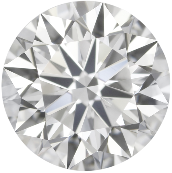 3.90mm Natural Fine Diamond - Round - VVS2-VS1 - F-G - Precision Cut - Africa