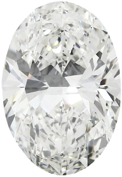 Natural Fine Diamond Melee - Oval - SI1-SI2 - G-H - Precision Cut - Africa