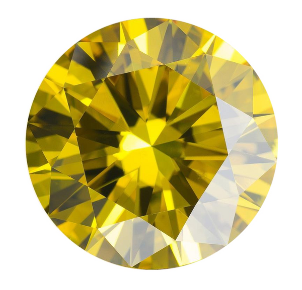 Natural Extra Fine Rich Yellow Diamond - Round - VS2-SI1 - Africa - Extra Fine Grade