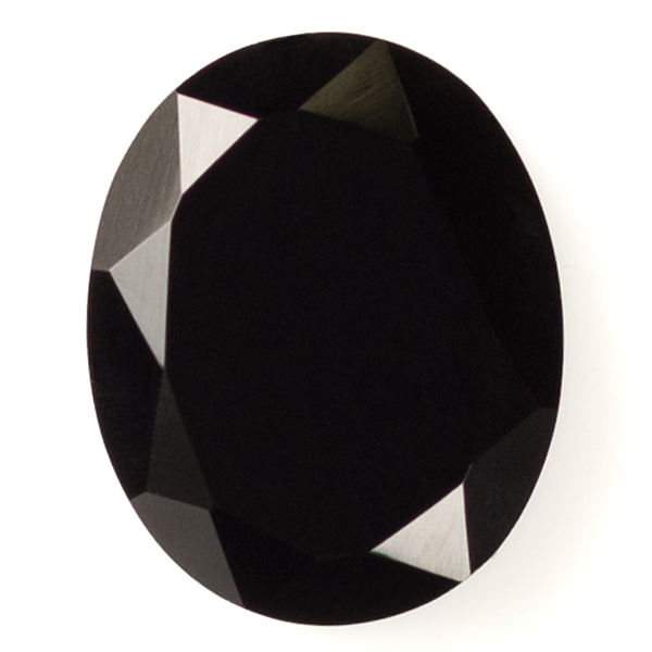 Natural Super Fine Black Onyx - Oval - Brazil - AAAA Grade