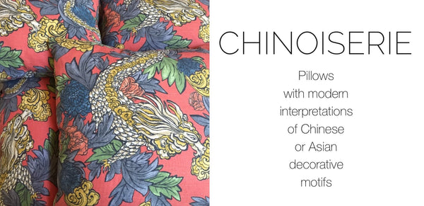Chinoiserie Pillows by Aloriam