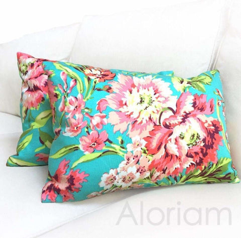 Amy Butler Love Bliss Bouquet Pillow by Aloriam