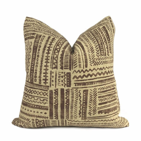 Banba African Ethnic Mudcloth Print Pillow Cover - Aloriam