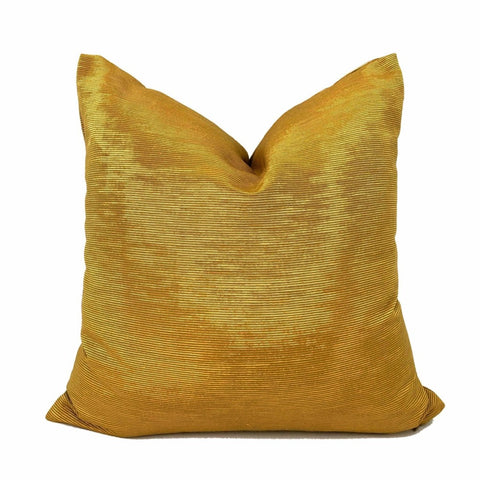 Beacon Hill 24 Karat Gold Moire Pillow Cover