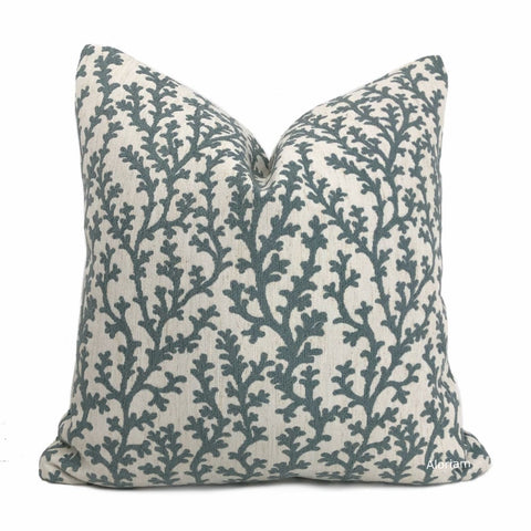Beatrix Sage Green Floral Vine Pillow Cover - Aloriam