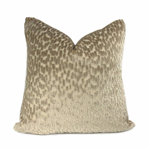 Bellini Sahara Sands Cut Velvet Dots Pillow Cover - Aloriam